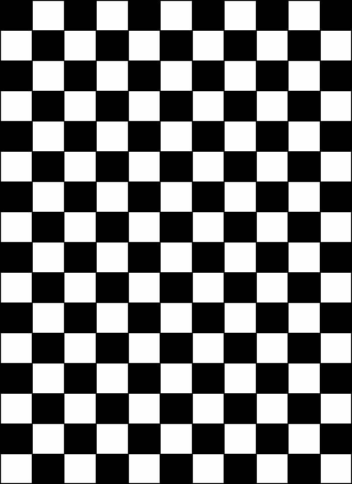 Black and White Checkered Pennant Banner Flag from PrintableTreats.