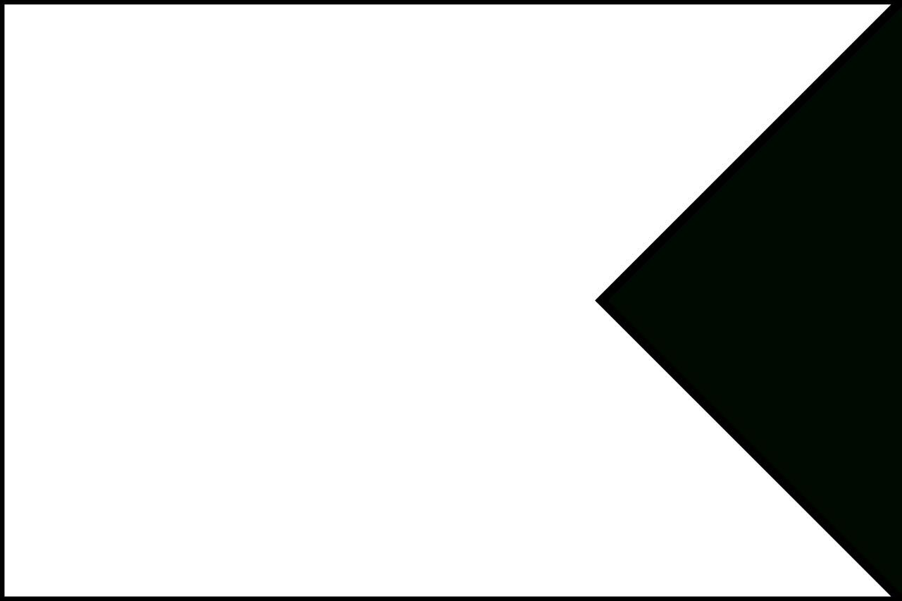 Flag Banner Template.