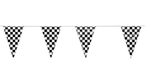 checkered flag banner clipart.