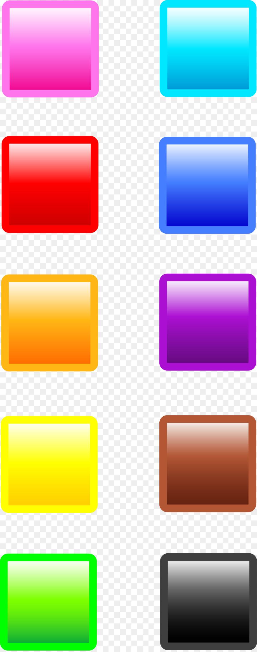 colorful squares clipart Web button Clip art clipart.