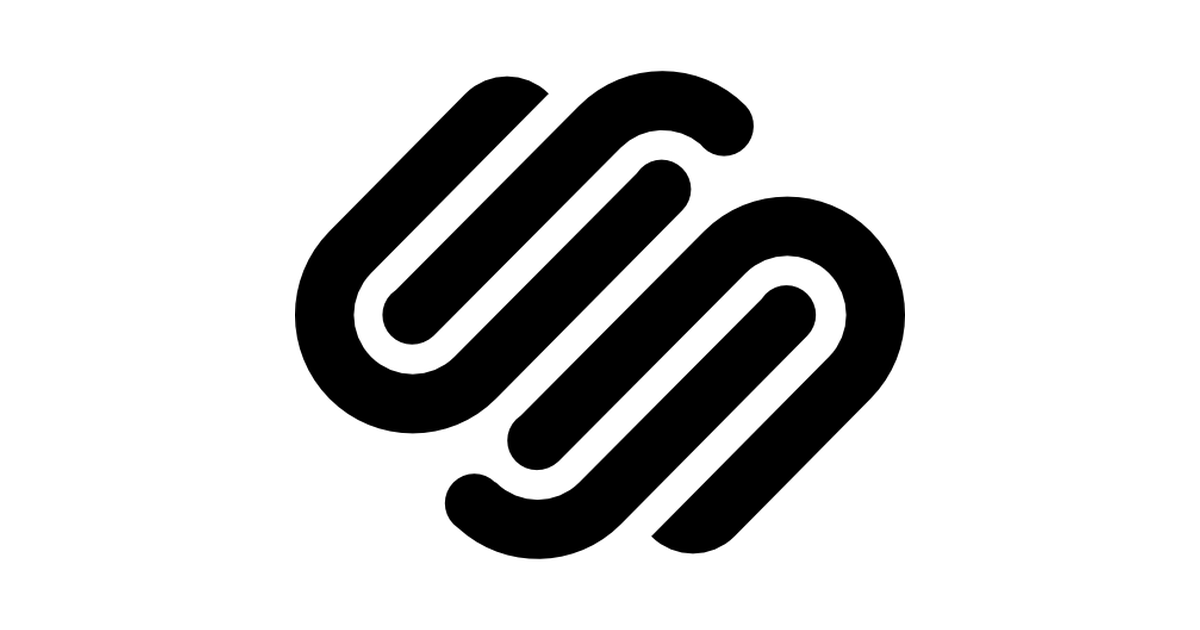 Squarespace logo.