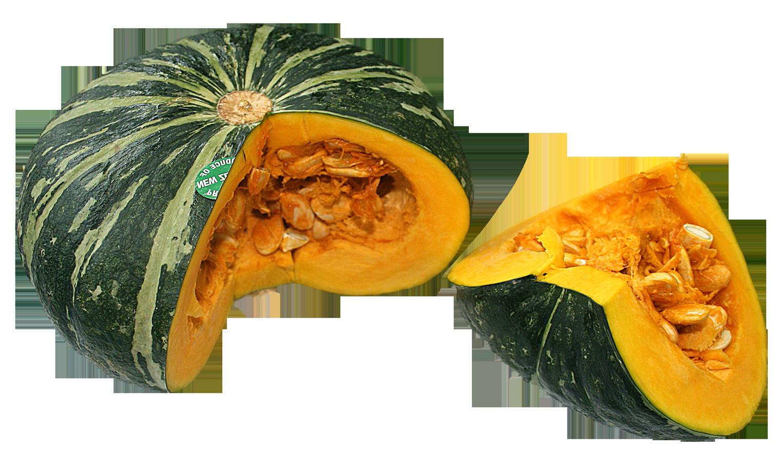 Sweet Pumpkin Slice PNG Image.
