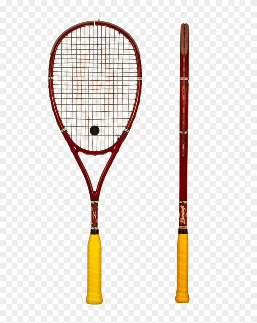 Harrow Bancroft Players Special Squash Racquet Clipart.