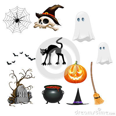 Halloween Clipart Royalty Free Stock Photo.