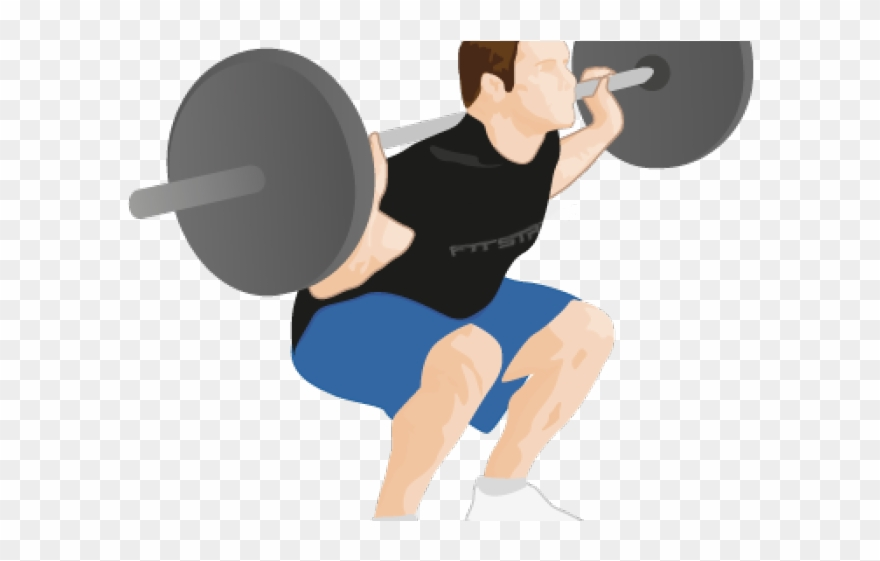 Weight Plates Clipart Squat.