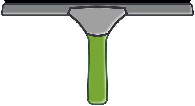Window Squeegee Clipart.