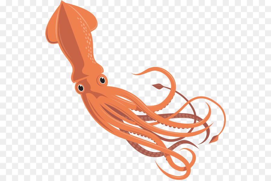 Giant Squid Octopus Cephalopod Invertebr #35007.
