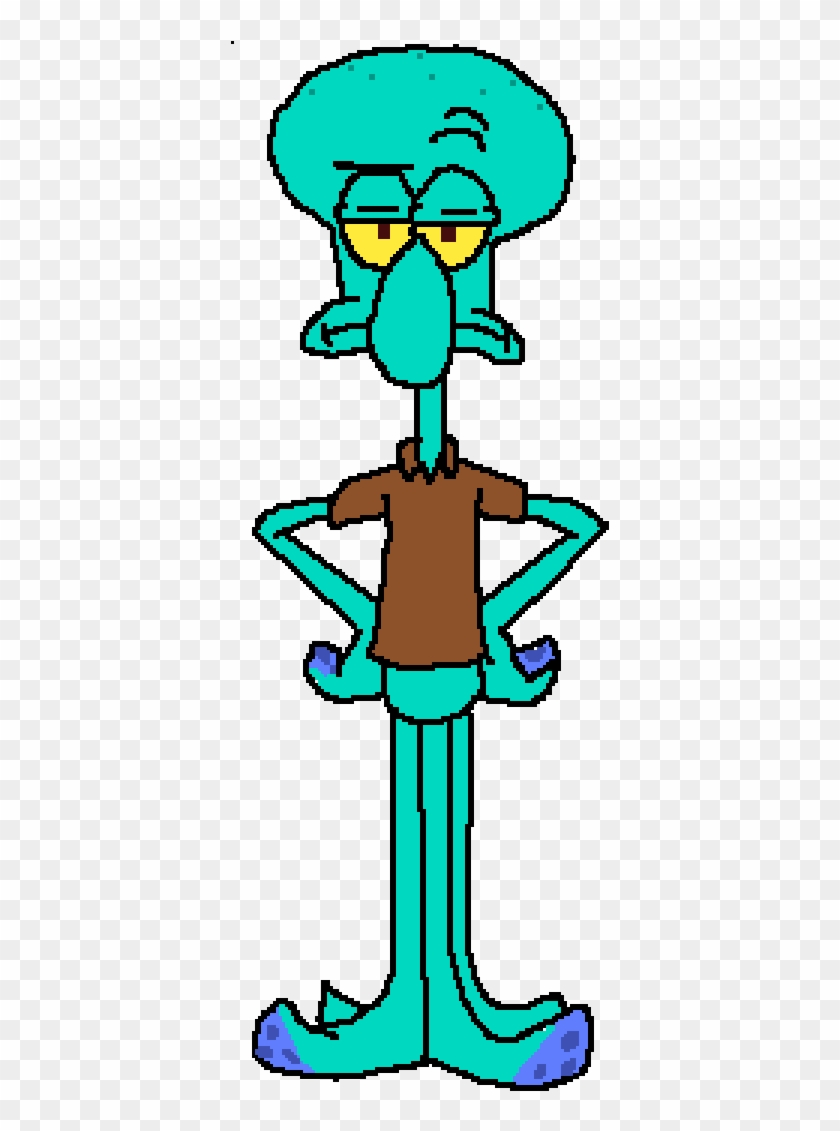 Squidward Tentacles.