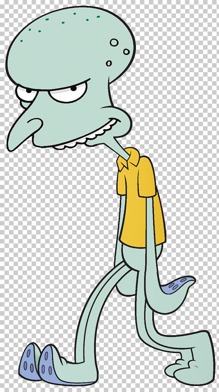 Squidward Tentacles Octopus , others PNG clipart.
