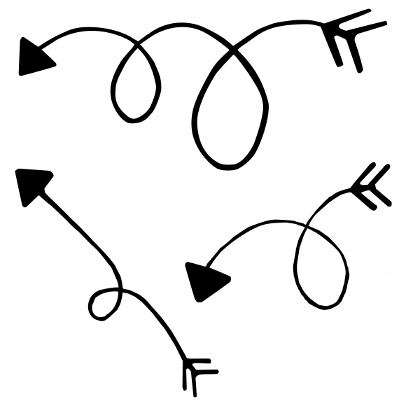 Squiggly arrow clipart 4 » Clipart Station.