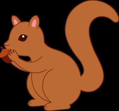 Squirrel Clipart.