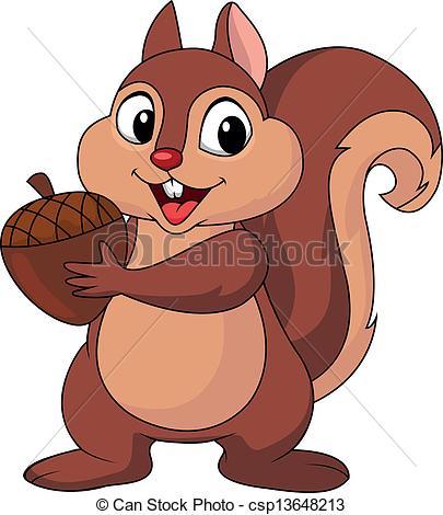 clipart of squirrels #5
