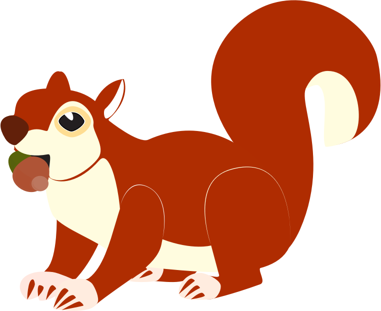 Squirrel clipart png.