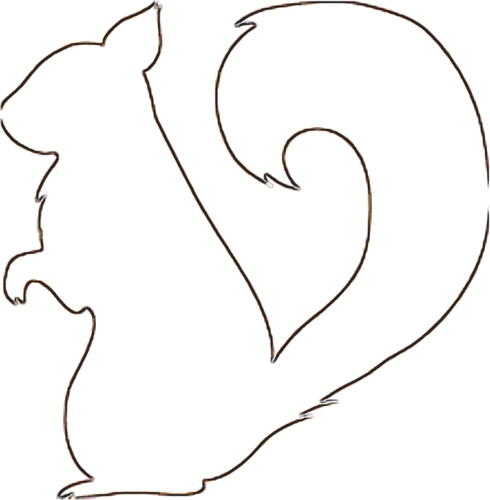 Pix For > Squirrel Pattern Printable.