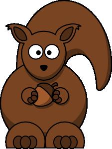 Clipart squirrels.