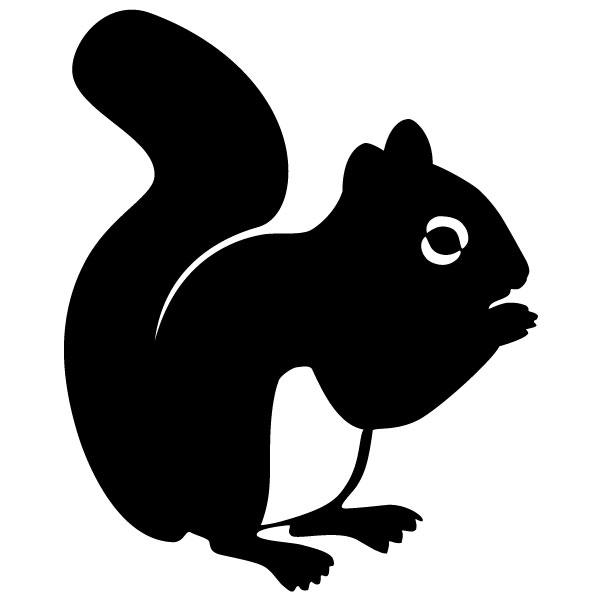 Best Squirrel Silhouette #7589.