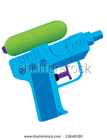 Squirt Gun Stock Images, Royalty.
