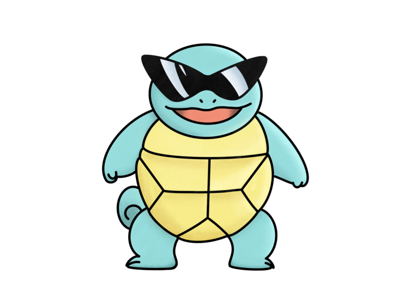 Squirtle Squad by Steph Ellis on Dribbble.