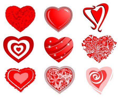 Srdce Vector Pack Clipart Picture Free Download.