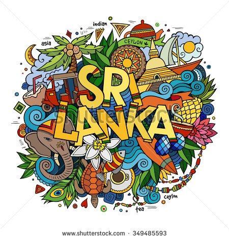 Travel Sri Lanka Clip Art.