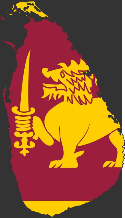 Sri lanka flag clipart.