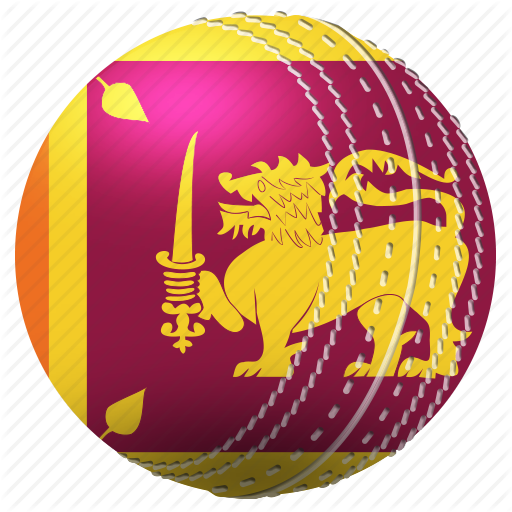 \'Flags in Cricket Ball Flat Color\' by ibrandify.