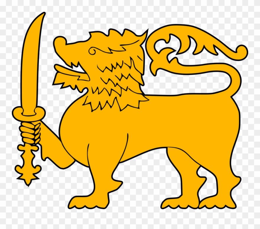 Flag Of Sri Lanka Sri Lanka Lion National Flag.