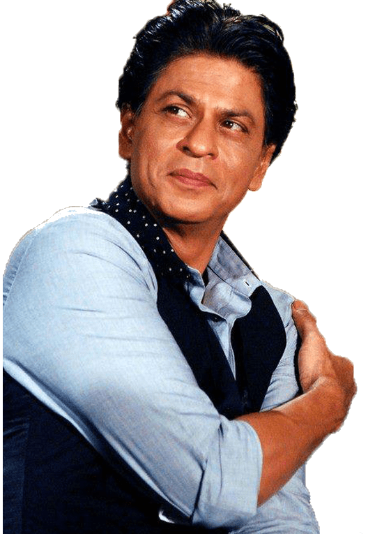 Shahrukh Khan Sideview transparent PNG.