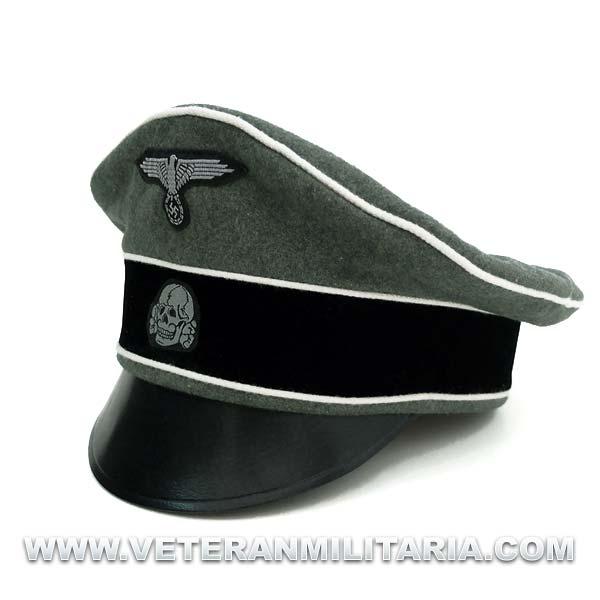 Visor Cap Officers M34 Alter Art Waffen SS.