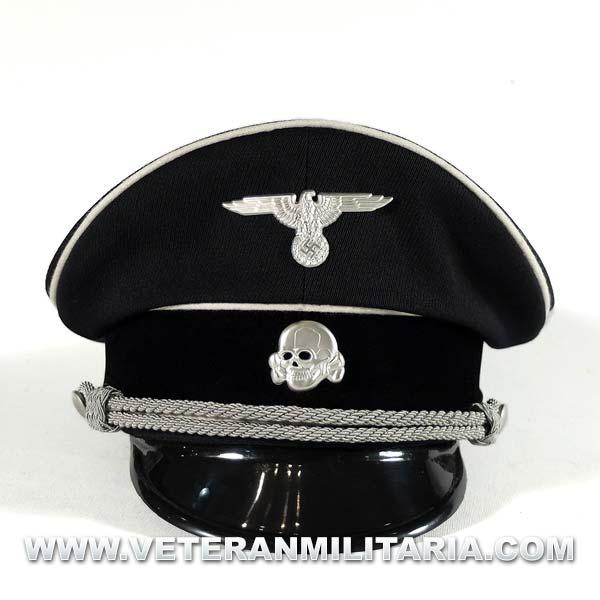 Allgemeine SS Officer Visor Cap.