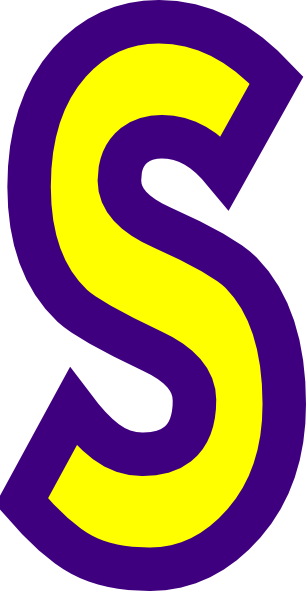 Letter ss clipart.