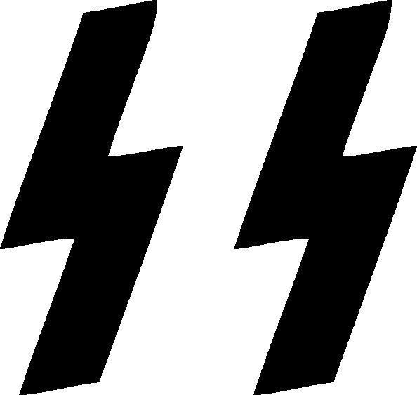 Electrical Clipart Lightning Bolt Waffen Ss Logo Png.