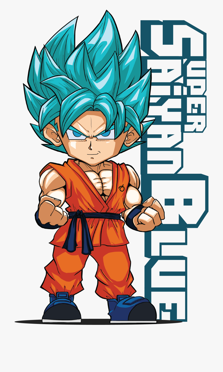 Goku Clipart Ssb.