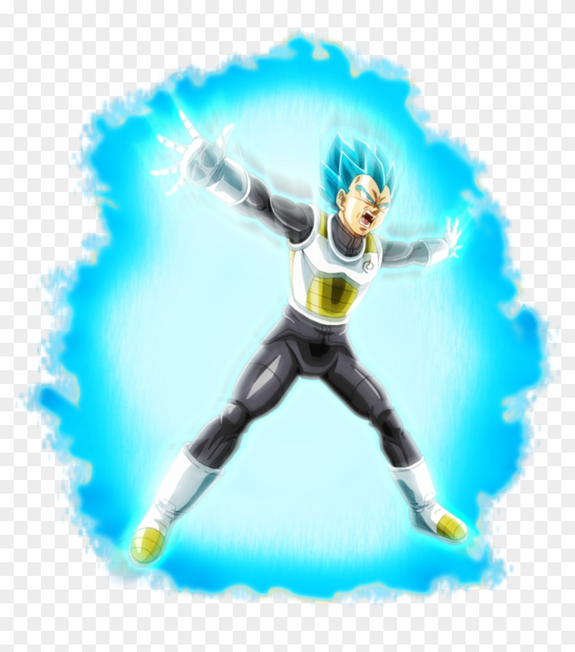 Ssb Vegeta Aura By Brusselthesaiyan.