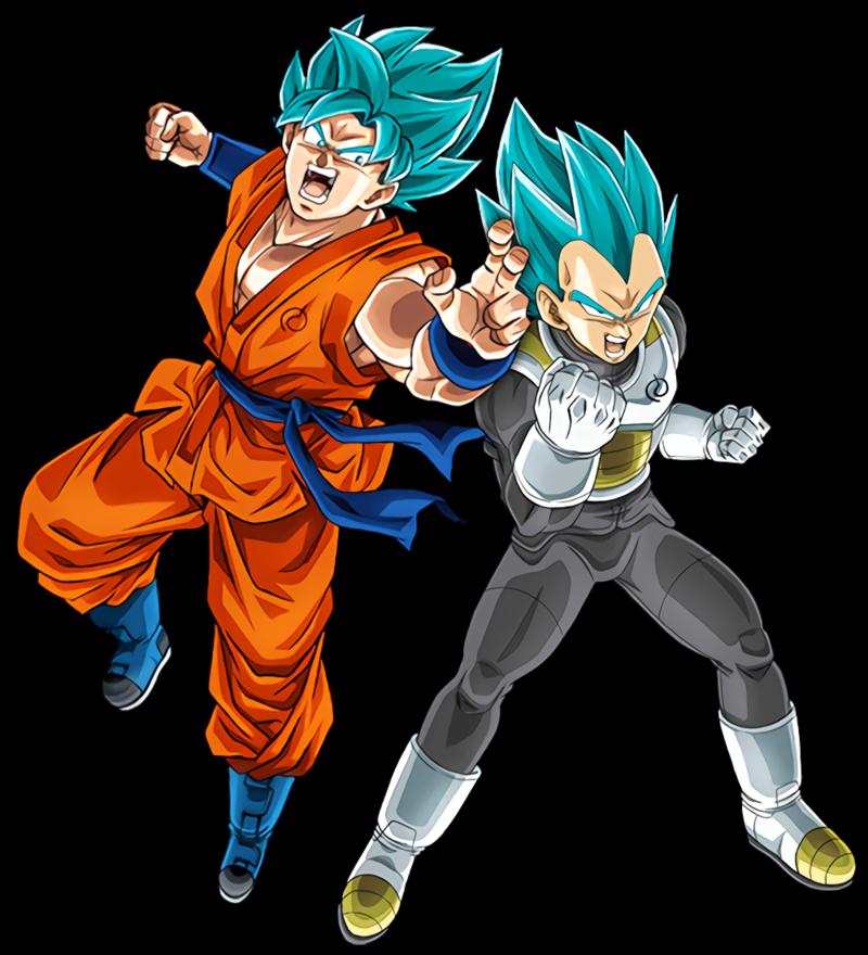 Download Free png SSB Goku and Vegeta.png.