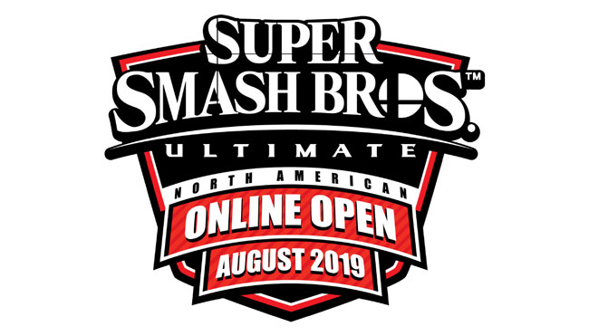 Super Smash Bros. Ultimate NA Online Open August 2019 announced.