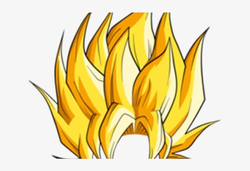 Hair Clipart Super Saiyan.