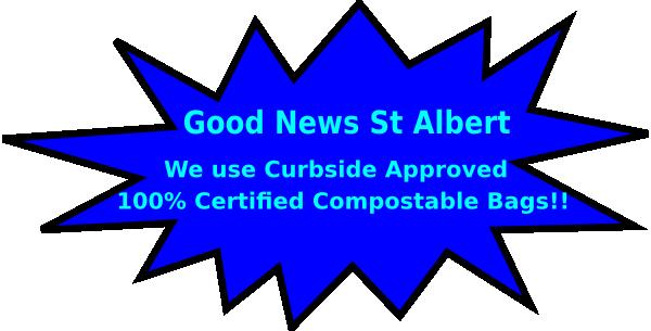 St Albert Compostable Bags Clip Art at Clker.com.