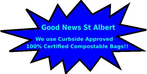 St Albert Compostable Bags 3 Clip Art at Clker.com.