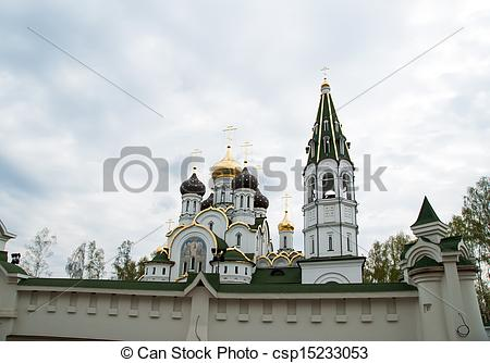 Stock Images of Church of St. Alexander Nevsky, Moscow region.