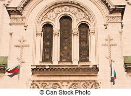 Stock Photography of The St. Alexander Nevsky Cathedral, Sofia.