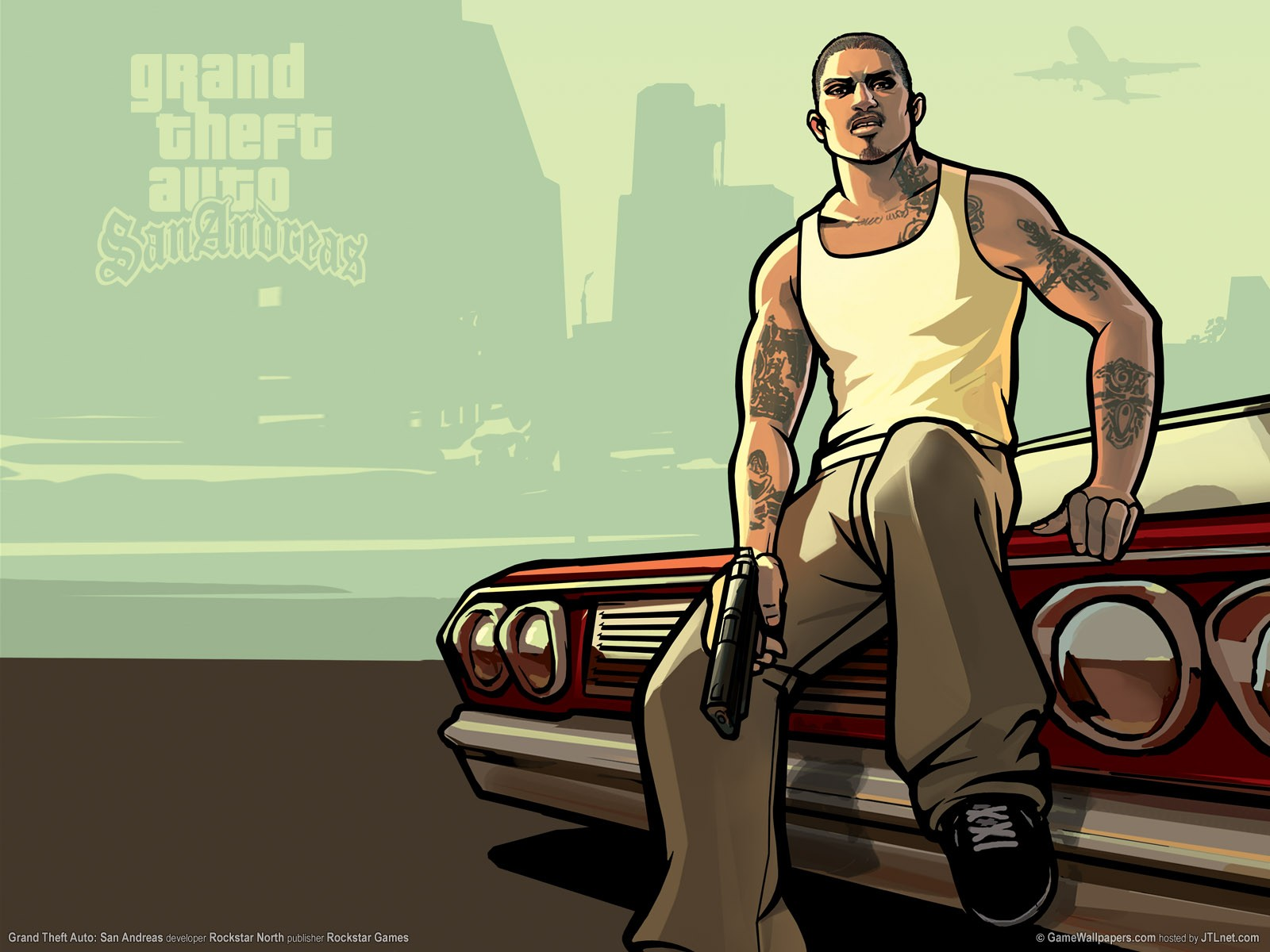 Gta San Andreas Cj Clipart.