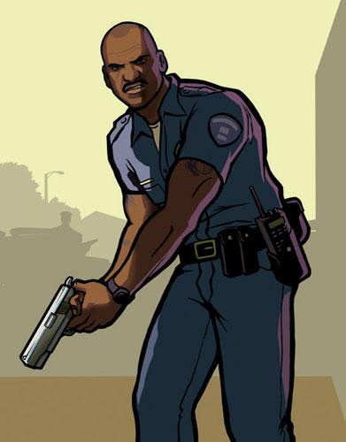 Gta San Andreas Cartoon.