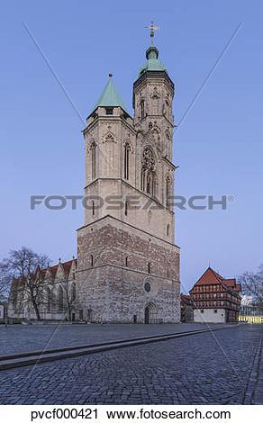 "Stock Photography of ""Germany, Lower Saxony, Brunswick, St."