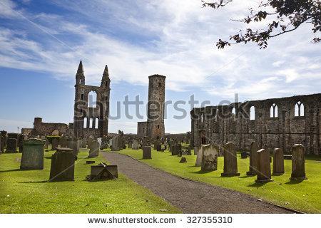 St Andrews Cemetery Stock Photos, Royalty.