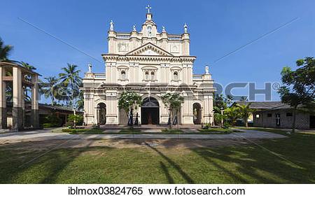 "Stock Image of ""St Anne's, Christian church, near Beruwela."