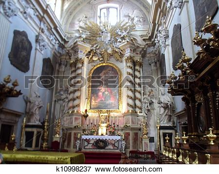 Picture of Altar in St. Anne k10998237.