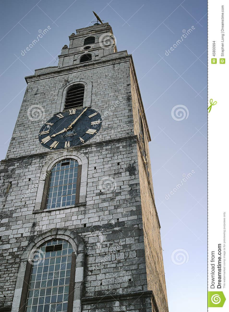 St. Anne's Church, Shandon, Cork Stock Photo.