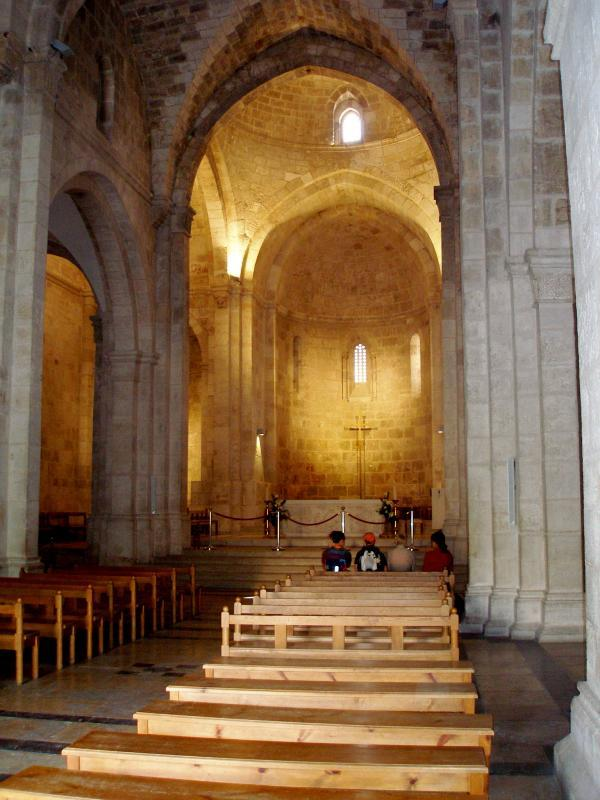 Church of St Anne « See The Holy Land.