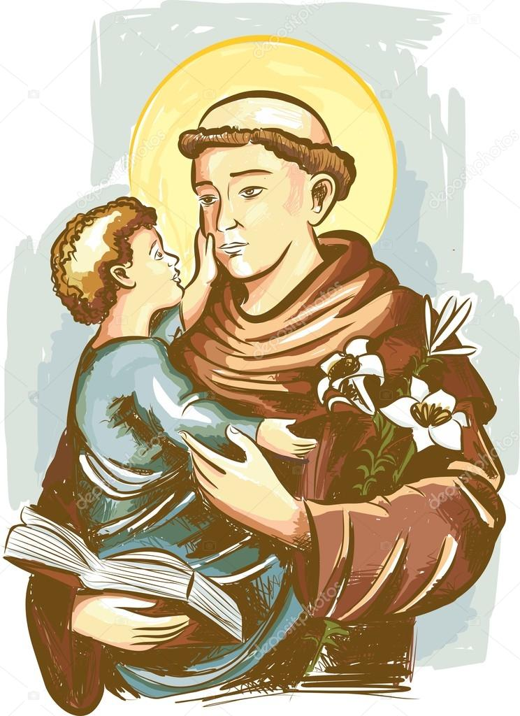 St anthony of padua clipart 1 » Clipart Station.